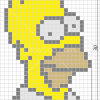 How to Draw Homer Simpson, Pixel Cartoons