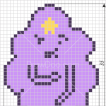 How to Draw Lumpy Space Princess, Pixel Cartoons