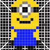 How to Draw Minion, Pixel Cartoons