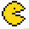 How to Draw Pacman, Pixel Cartoons