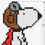 How to Draw Snoopy, Pixel Cartoons