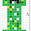 How to Draw Creeper, Pixel Minecraft