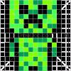 How to Draw Creeper Chibi, Pixel Minecraft