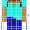 How to Draw Steve, Pixel Minecraft