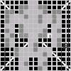 How to Draw Skeleton, Pixel Minecraft