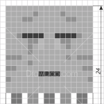 How to Draw Ghast, Pixel Minecraft
