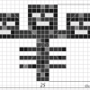 How to Draw Wither, Pixel Minecraft