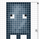 How to Draw Squid, Pixel Minecraft
