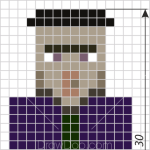 How to Draw Whitch, Pixel Minecraft