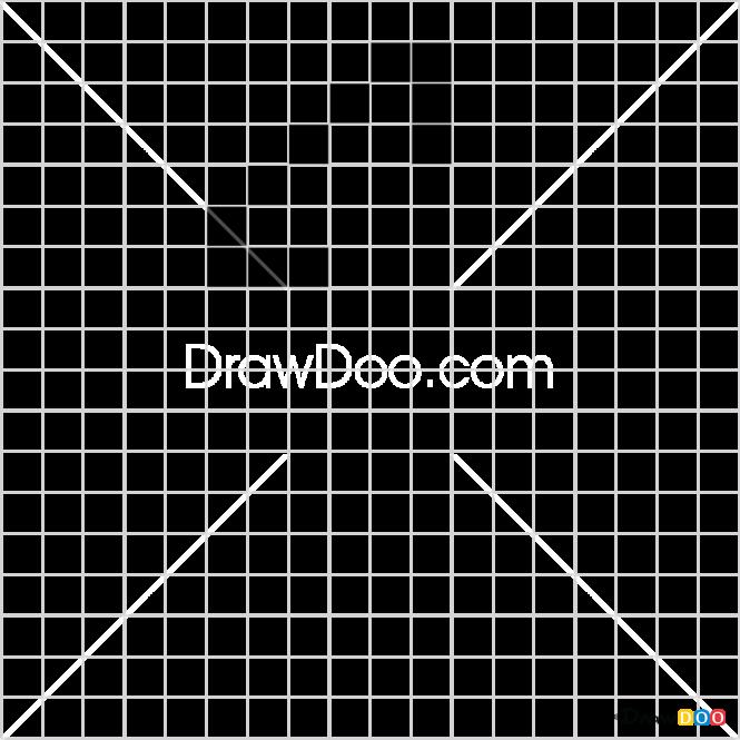 How to Draw Axa, Pixel Minecraft