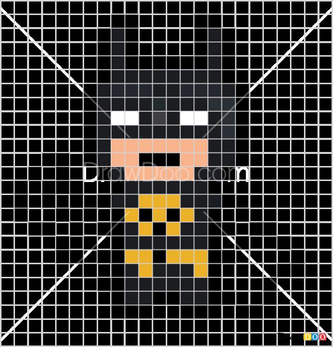 How to Draw Batman, Pixel Superheroes