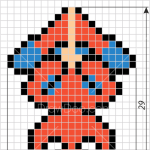 How to Draw Spiderman, Pixel Superheroes