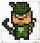 How to Draw Green Arrow, Pixel Superheroes
