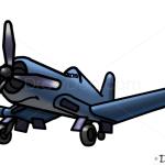 How to Draw Skipper, Planes Cartoon