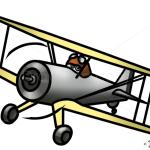 How to Draw Leadbottom, Planes Cartoon