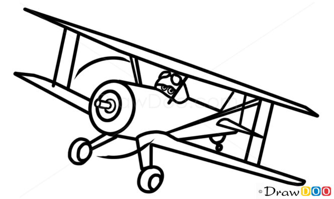 How to Draw Leadbottom, Planes Cartoon