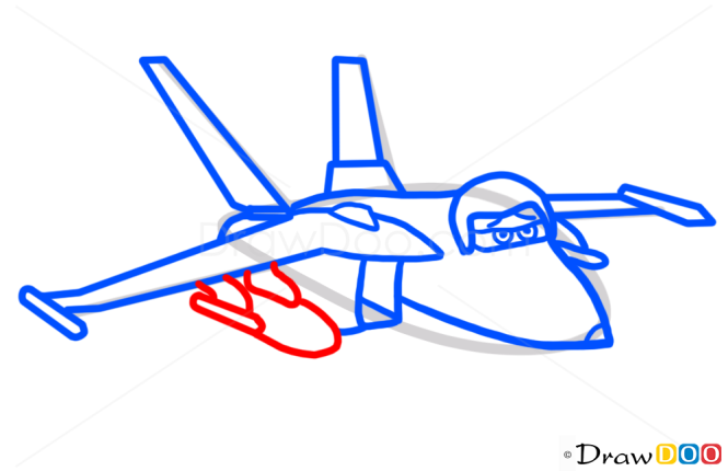 How to Draw Bravo, Planes Cartoon
