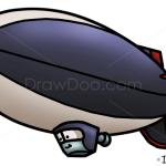 How to Draw Colin Cowlin, Planes Cartoon