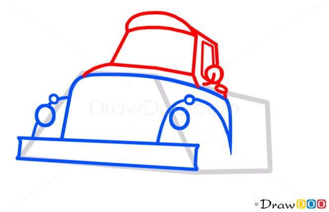 How to Draw Chug, Planes Cartoon