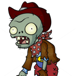 How to Draw Cowboy Zombie, Plants vs Zombies