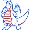 How to Draw Dragonite, Pokemons