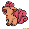 How to Draw Vulpix, Pokemons