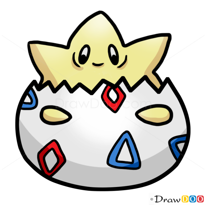 How to Draw Egg, Pokemons