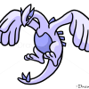 How to Draw Lugia, Pokemons