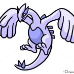 How to Draw Lugia, Pokemons