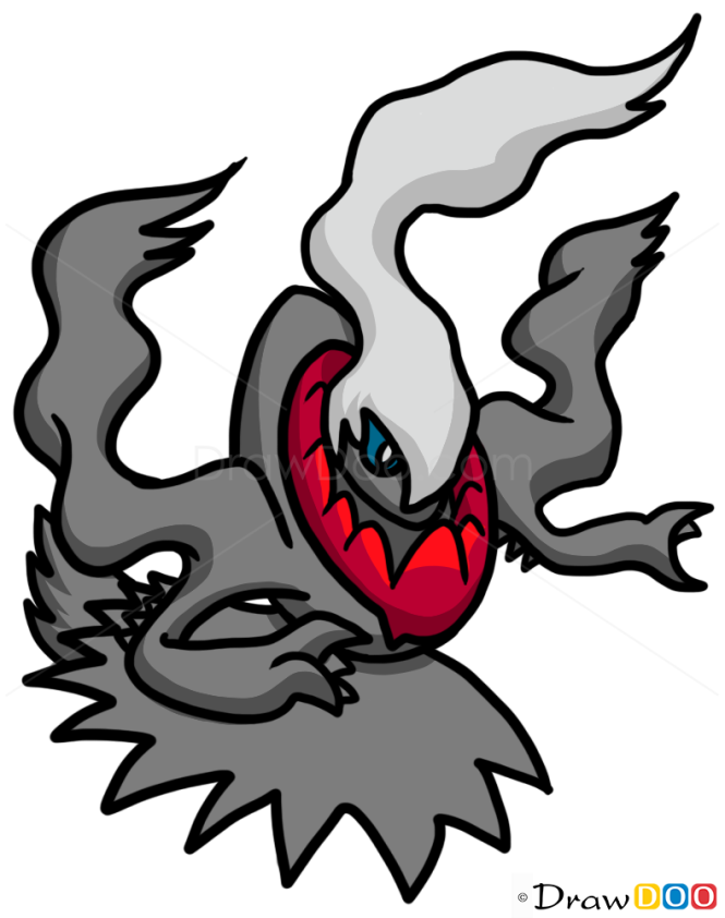 How to Draw Darkrai, Pokemons
