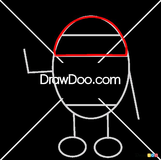 How to Draw Rody, Pororo Penguin