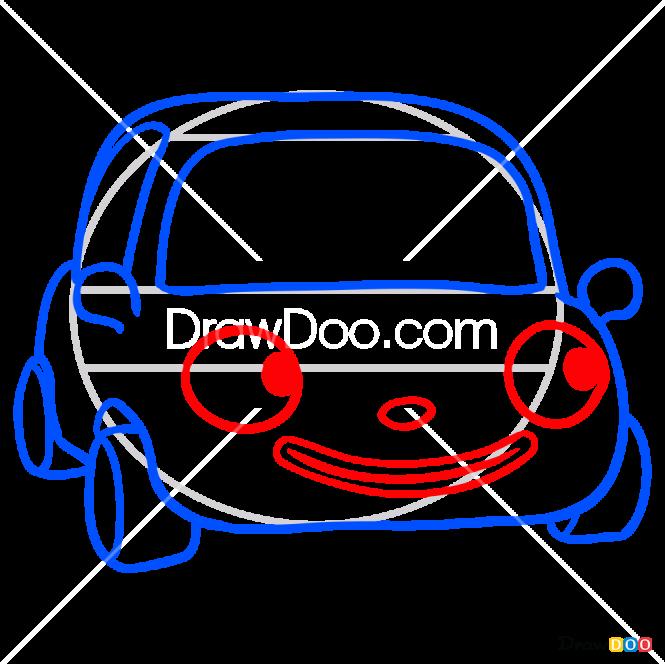 How to Draw Tu-Tu, Pororo Penguin