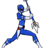 How to Draw Blue Ranger, Power Rangers