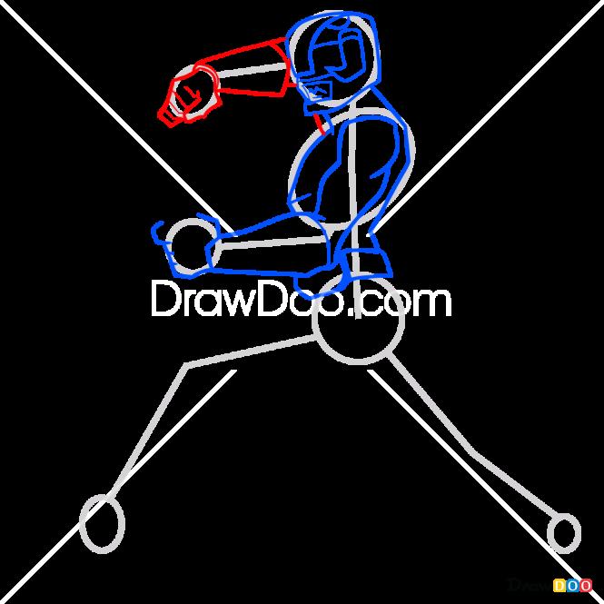 How to Draw Black Ranger, Power Rangers