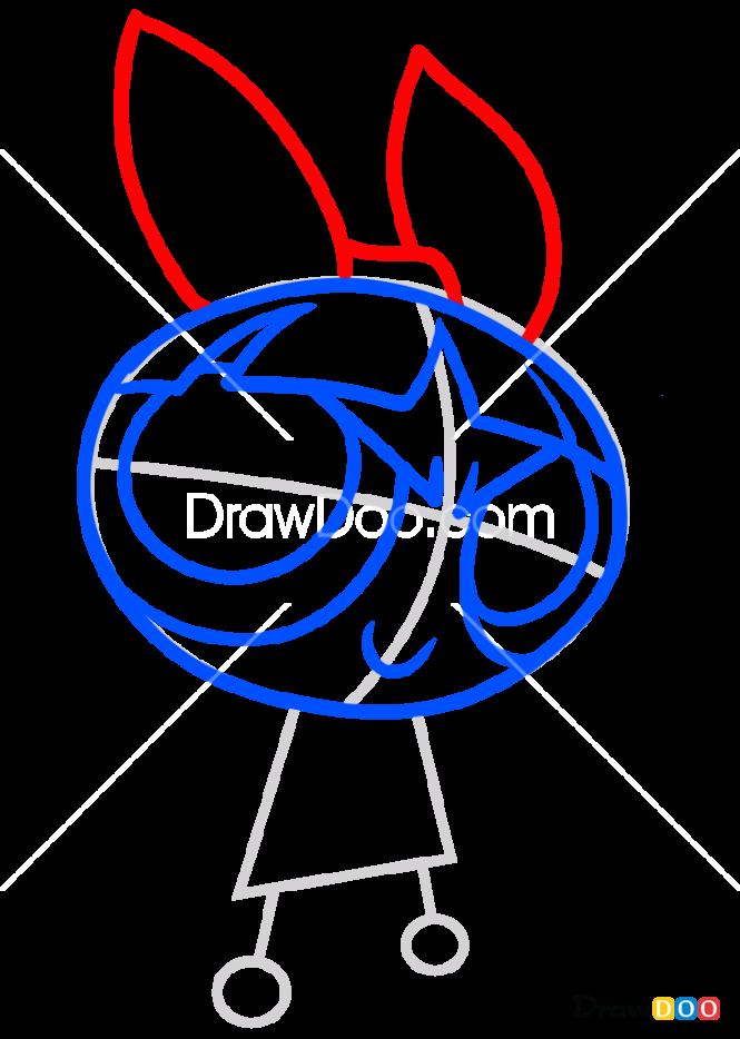 How to Draw Blossom, Powerpuff Girls