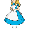How to Draw Alice, Cartoon Princess