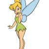 How to Draw Tinkerbell, Cartoon Princess