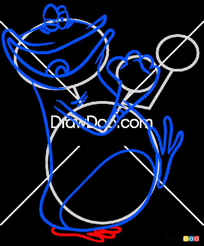 How to Draw Globox, Rayman