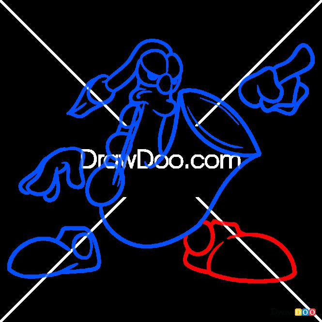 How to Draw Mr. Sax, Rayman