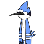 How to Draw Mordecai, Regular Show