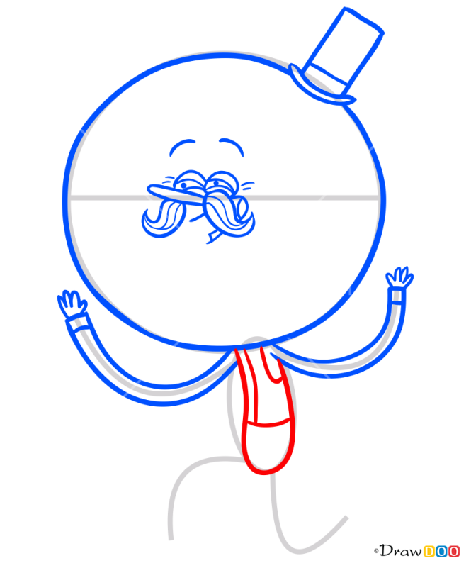 How to Draw Pops, Regular Show
