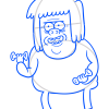 How to Draw Muscle Man, Regular Show