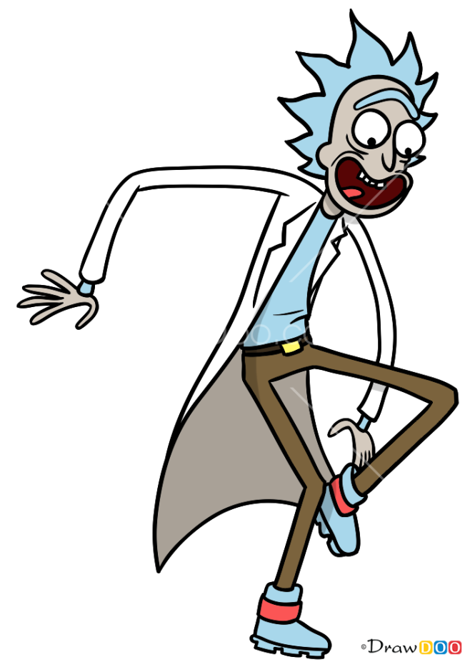 How to Draw Rick, Rick and Monty