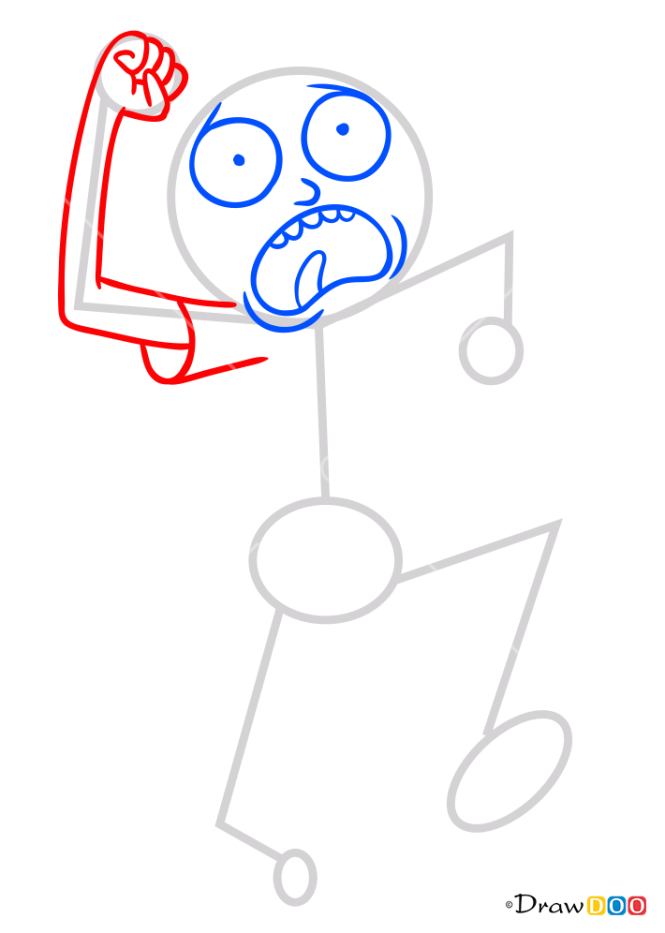 How to Draw Monty, Rick and Monty