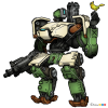 How to Draw Bastion, Robots
