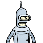 How to Draw Bender Rodrigues, Robots