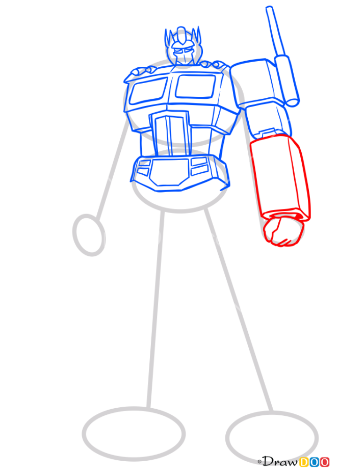 How to Draw Optimus Prime, Robots