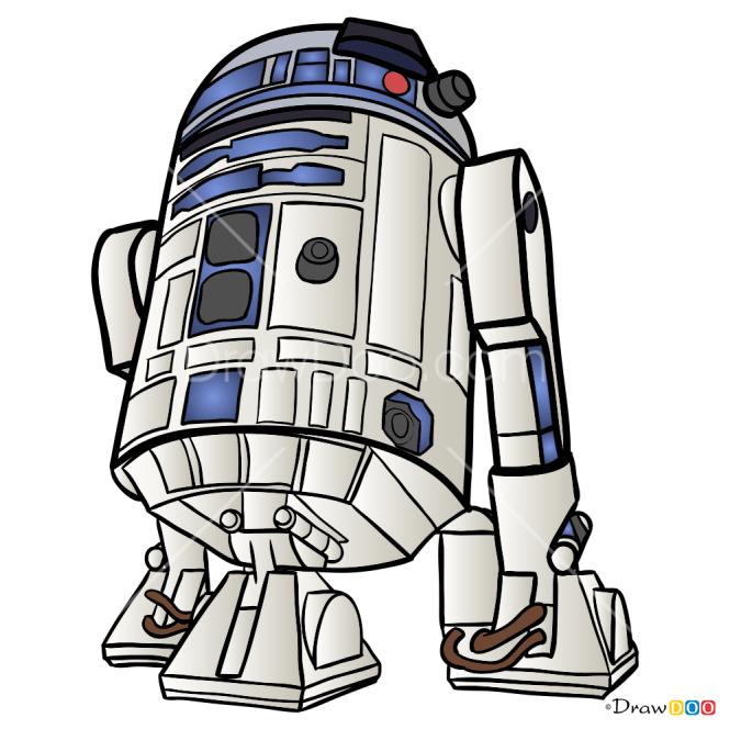 How to Draw R2D2, Robots