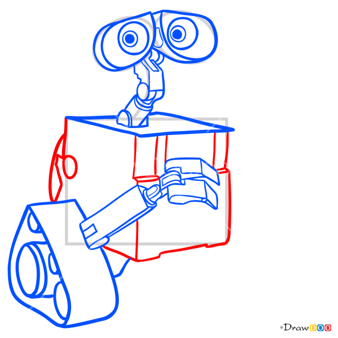How to Draw Wall-e, Robots