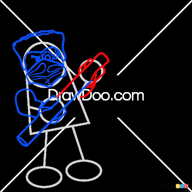 How to Draw Zane Nindroid, Robots